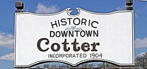 Historic Downtown Cotter, Arkansas